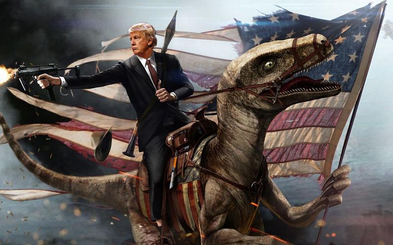 Trump ce héros !