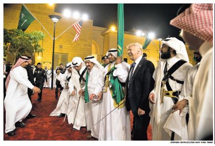 Trump en Arabie Saoudite