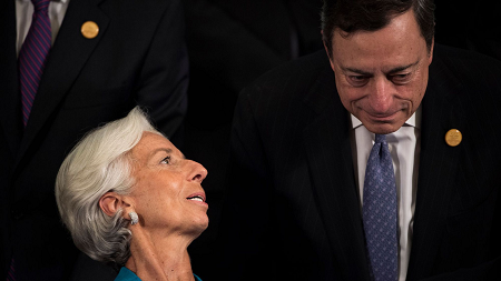 Christine Lagarde & Mario Draghi