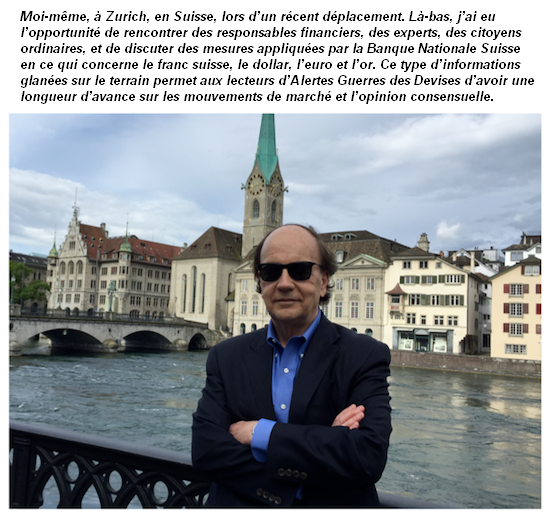 Jim Rickards à Zurich