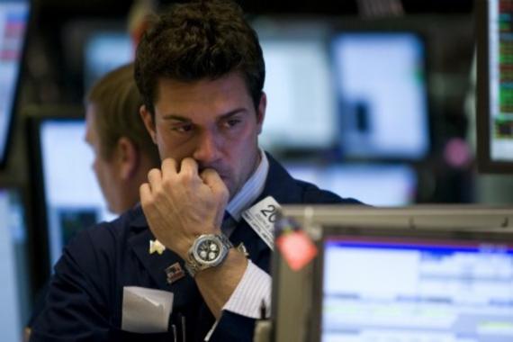 Trader stressé