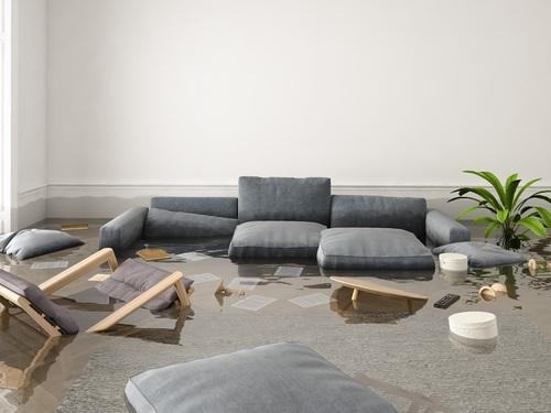 Appartement inondé