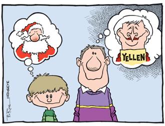 La mère Noël Yellen - banques centrales