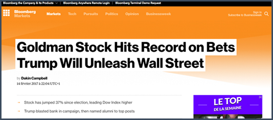 bloomberg Wall Street