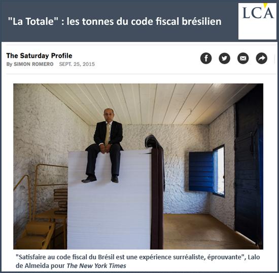 """""""La Totale"""" : les tonnes du code fiscal brésilien"""