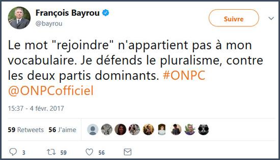 Bayrou politiciens François Bayrou mensonges politique macron