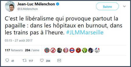 Melenchon mélanchon marseille burnout liberalisme politiciens François Bayrou mensonges politique macron