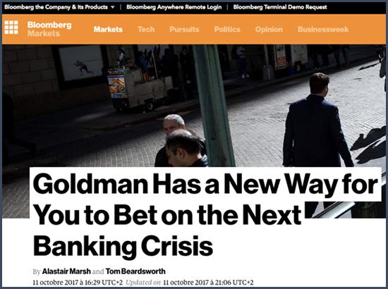 Bloomberg Goldman Sachs