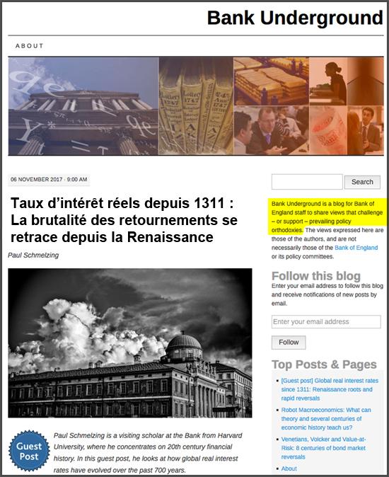 Taux d'intérêt réels depuis 1311: La brutalité des retournements se retrace depuis la Renaissance