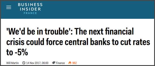 Par les taux négatifs et cette fois vers -5%, répond Business Insider.