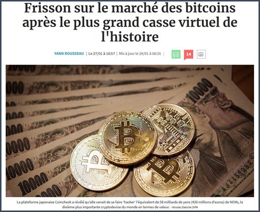 casse cryptomonnaies marché bitcoin
