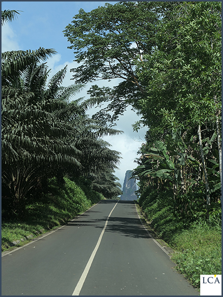 El Pico, one of the characteristic mountains of São Tome