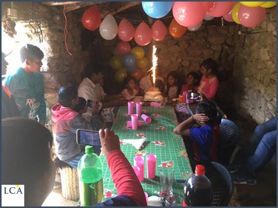 La fête d'anniversaire
