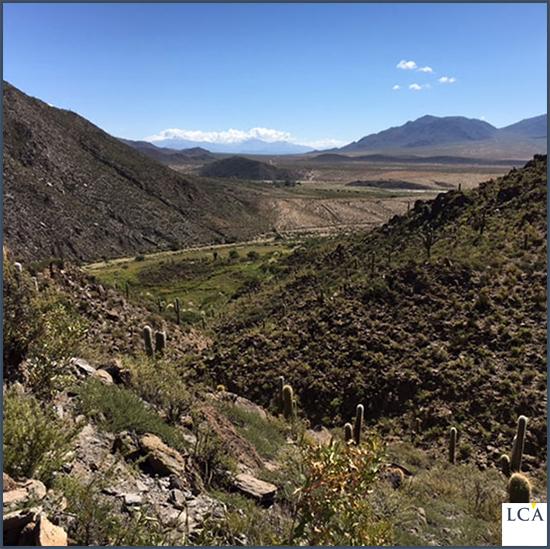 Une vue de la vallée