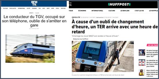 les ratés de la SNCF