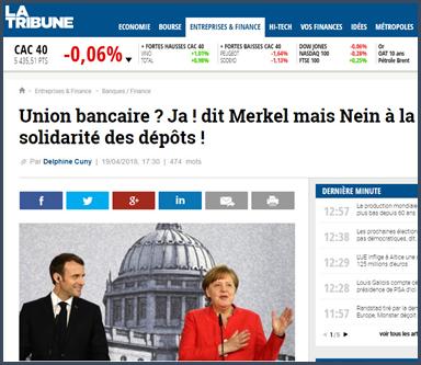 Merkel et Macron