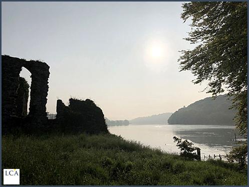 Les ruines de l'Abbaye de Molana