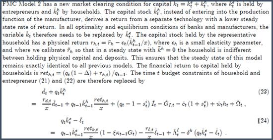 La Banque d'Angleterre préfère expliquer l'instabilité du système avec des formules