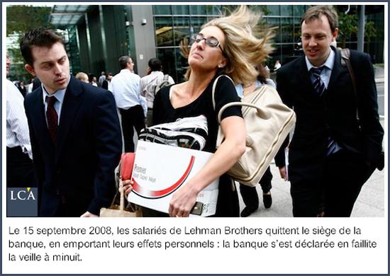 faillite de Lehman Brothers