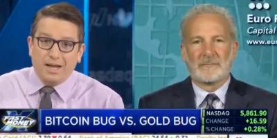 Bitcoin bug vs. gold bug
