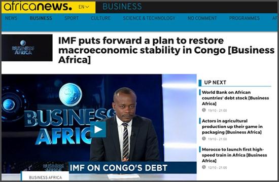Africa News - IMF + Congo Bitcoin