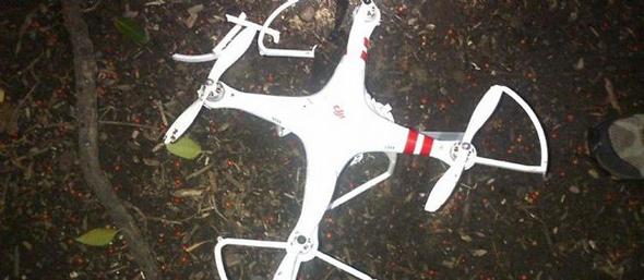 Drone retrouvé le 26 janvier dernier dans le jardin de la Maison Blanche