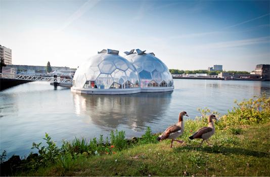 Rotterdam - villes flottantes