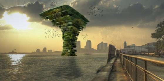 Sea Tree - villes flottantes