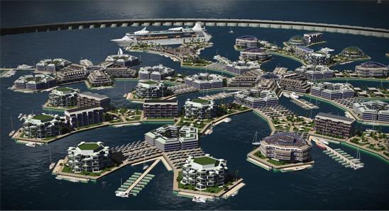 Seesteading villes flottantes