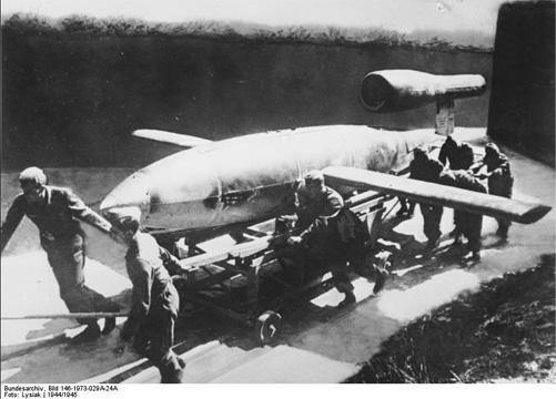 Missile V1 - fret aerien