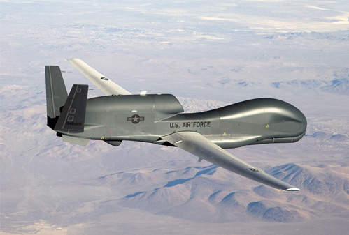 Global Hawk  fret aérien