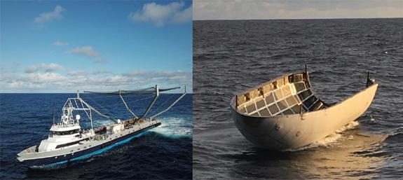 space x projet Ce bateau de pêche SpaceX ramasse uniquement des coiffes de fusées spatiales  Crédit:SpaceX