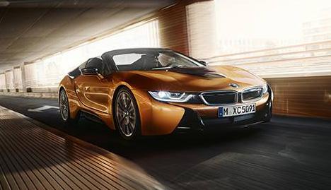 BMW i8, voiture Electrique et autonome